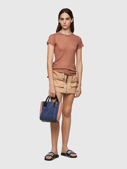 Diesel - LEENA L, Blue/Pink - Shopping and Shoulder Bags - Image 6