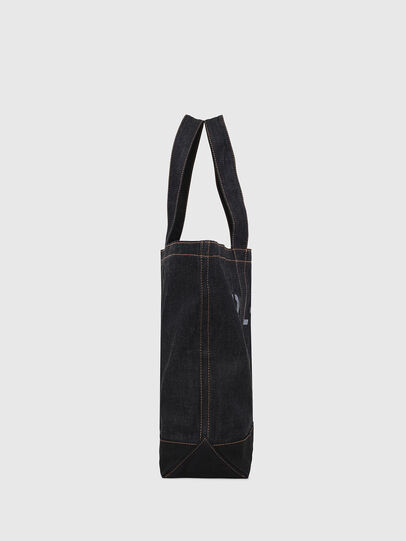 Diesel - D-THISBAG SHOP M, Blue - Shopping and Shoulder Bags - Image 4