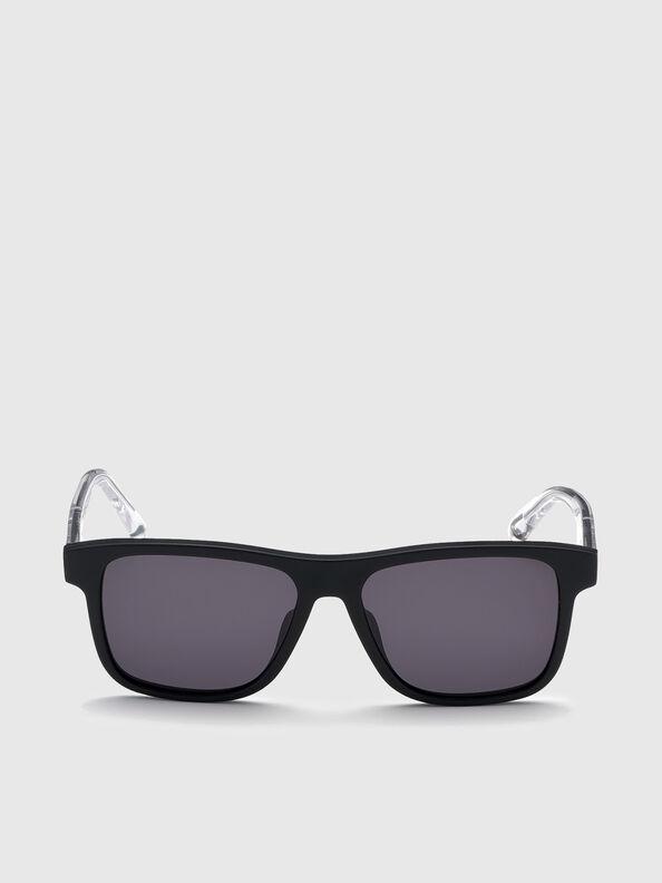 DL0279, Black/White - Sunglasses