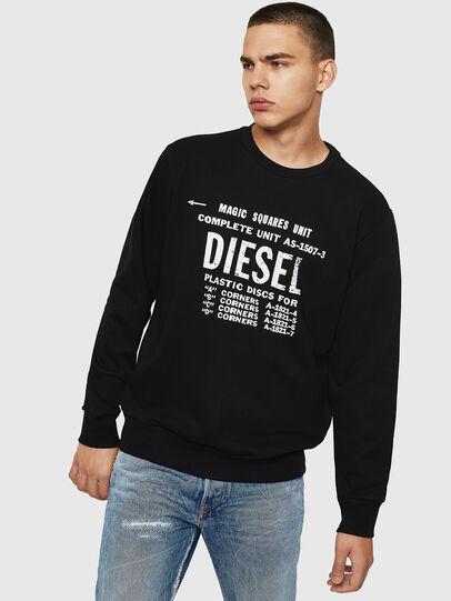 Diesel - S-GIR-B5, Black - Sweaters - Image 1