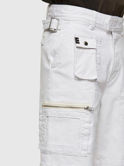 Diesel - D-CYAN-S-SP1, White - Shorts - Image 3
