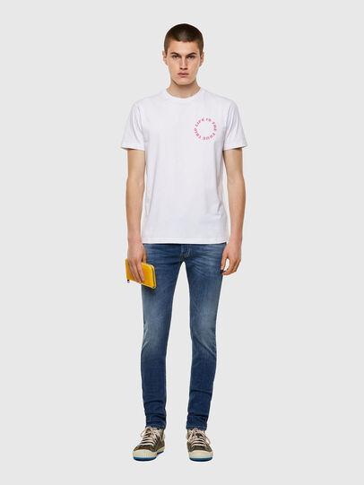 Diesel - T-DIEGOS-B7, White - T-Shirts - Image 4