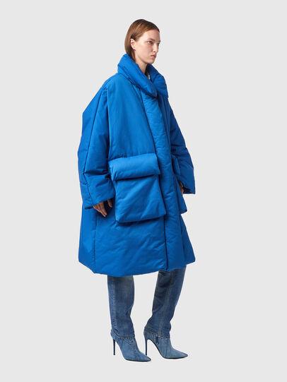Diesel - W-THEA, Blue - Winter Jackets - Image 6