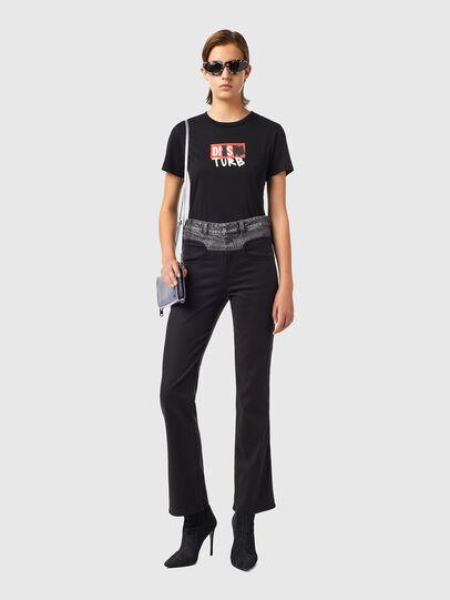 Diesel - P-LIA, Black - Pants - Image 6