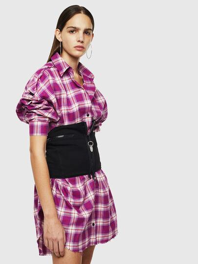 Diesel - D-SAMIA, Violet - Dresses - Image 4