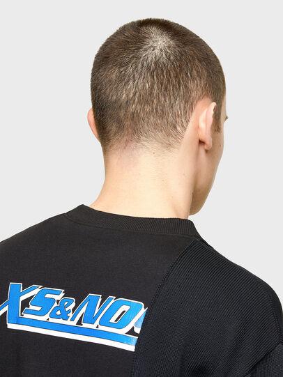 Diesel - K-JARGON, Black - Knitwear - Image 5