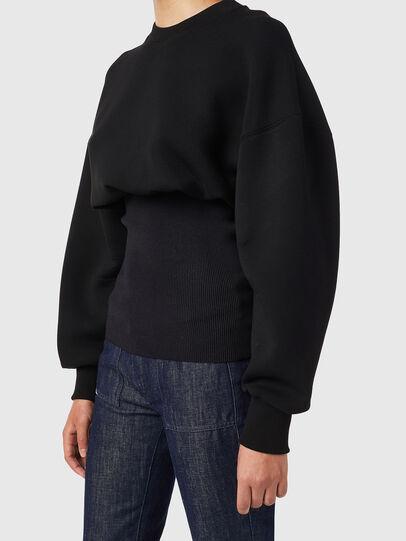 Diesel - F-BELTANA, Black - Sweaters - Image 3