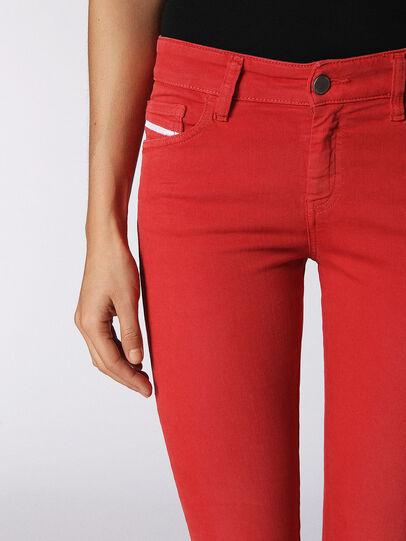 Diesel - Slandy 084BZ, Red - Jeans - Image 4