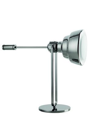 GLAS TAVOLO CROMO, Silver - Table Lighting