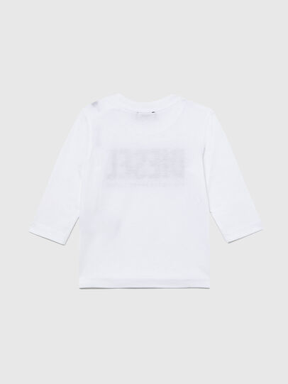 Diesel - TJUSTLOGOB ML, White - T-shirts and Tops - Image 2