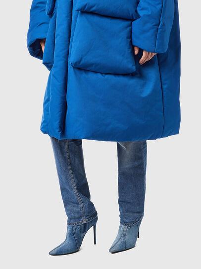 Diesel - W-THEA, Blue - Winter Jackets - Image 5