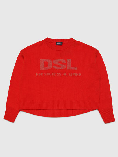 Diesel - KLUR, Orange - Knitwear - Image 1