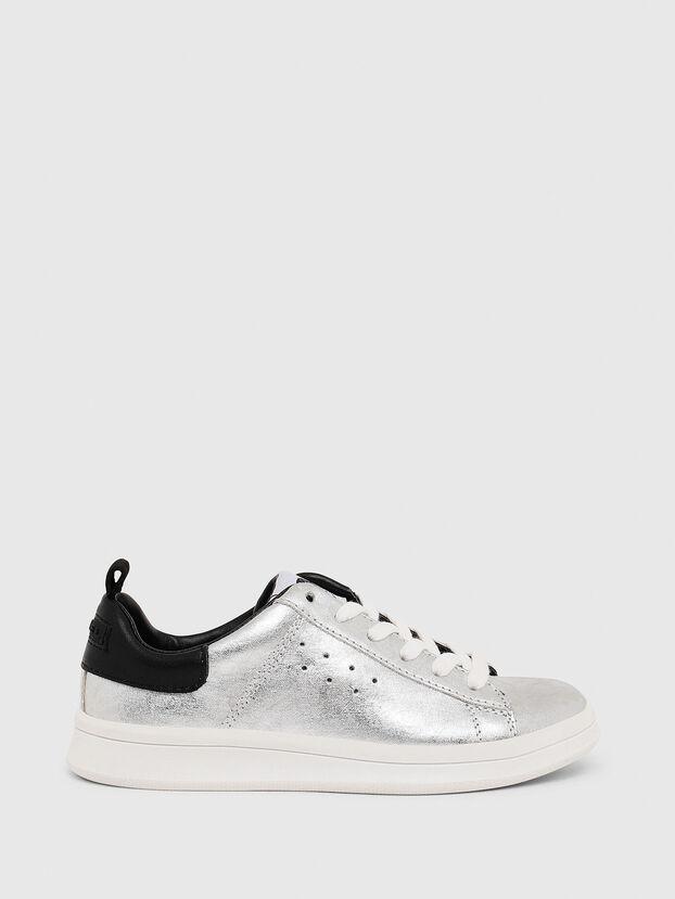 SN LOW LACE 11 FULL, Silver/Black - Footwear