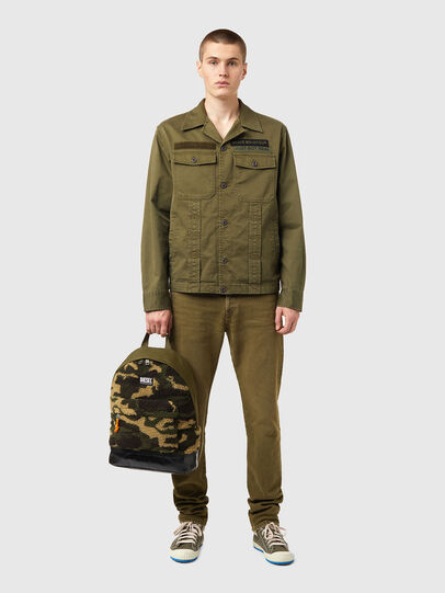 Diesel - MARMUT, Green Camouflage - Backpacks - Image 6