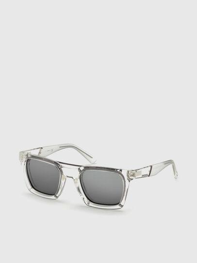 Diesel - DL0250, White - Sunglasses - Image 4