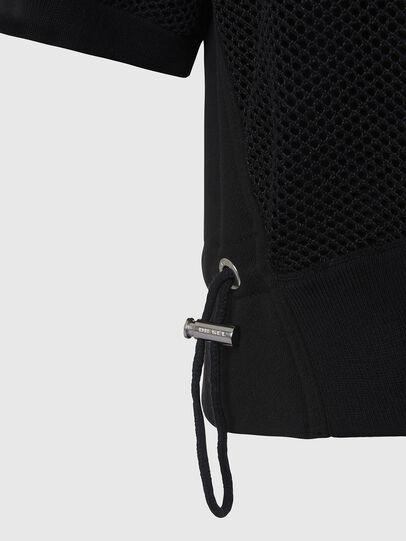 Diesel - M-ROSSI, Black - Knitwear - Image 3