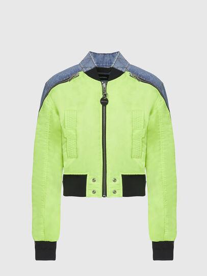Diesel - G-DANIEL, Blue/Green - Jackets - Image 1