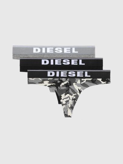 Diesel - UMBR-STRINGTHREEPACK, Grey/Black - Briefs - Image 4