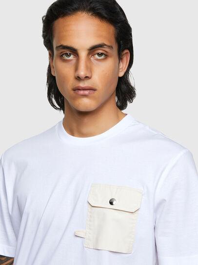 Diesel - T-JUSMER, White - T-Shirts - Image 3
