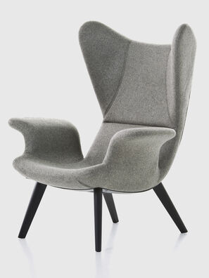 DL2H05 LONGWAVE, Grey - Armchairs