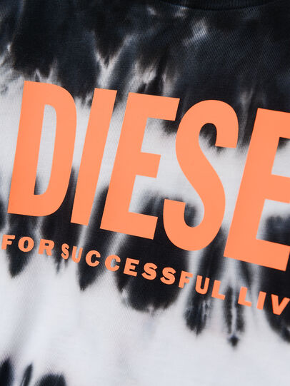 Diesel - TAREZB, Black/White - T-shirts and Tops - Image 3