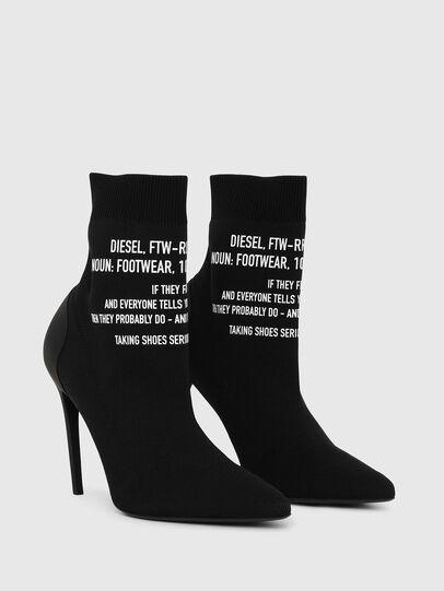 Diesel - D-SLANTY HAB, Black - Ankle Boots - Image 2