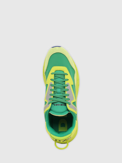 Diesel - S-SERENDIPITY LC, Yellow/Green - Sneakers - Image 8