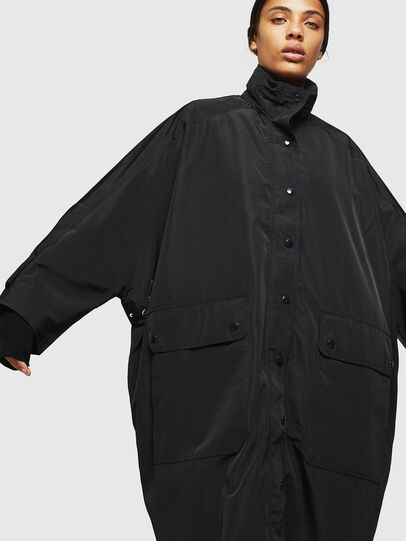 Diesel - G-TAKY, Black - Jackets - Image 1