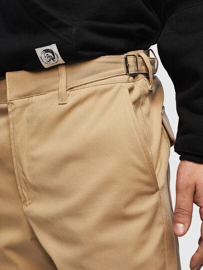 Diesel - P-CHARLIE, Light Brown - Pants - Image 3