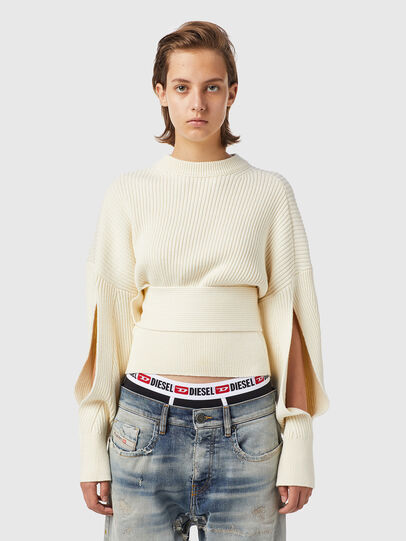 Diesel - M-SYLVANIA, White - Knitwear - Image 1