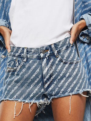 DE-RIFTY, Medium blue - Shorts