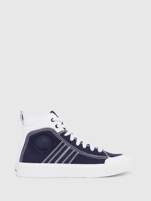 S-ASTICO MID LACE W, Blue/White - Sneakers