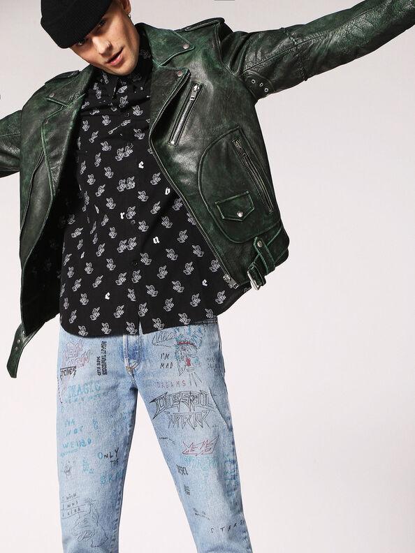 L-GRIME,  - Leather jackets