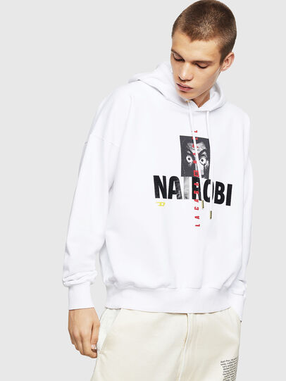 Diesel - LCP-S-ALBY-NAIROBI, White - Sweaters - Image 1