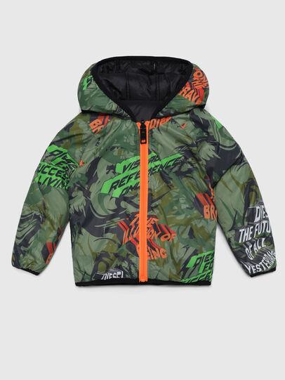 Diesel - JUBBYB, Black/Green - Jackets - Image 1