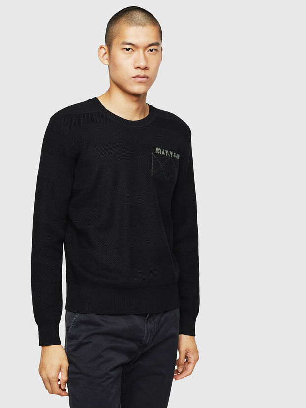 K-STLE, Black - Knitwear