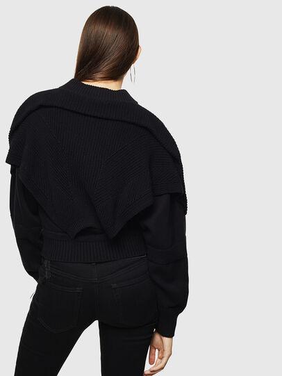 Diesel - M-TESY, Black - Knitwear - Image 2