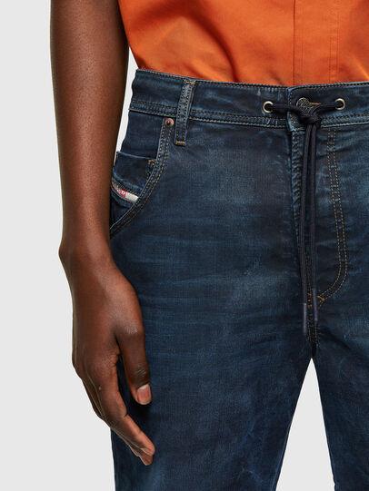 Diesel - D-KROOSHORT-Y JOGGJEANS, Dark Blue - Shorts - Image 3