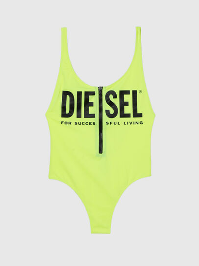 Diesel - BFSW-LIAZZ, Green Fluo - Swimsuits - Image 4