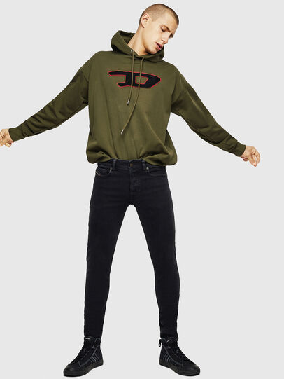 Diesel - S-DIVISION-D, Military Green - Sweaters - Image 5