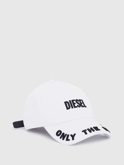 Diesel - CEPHO, White - Caps - Image 1