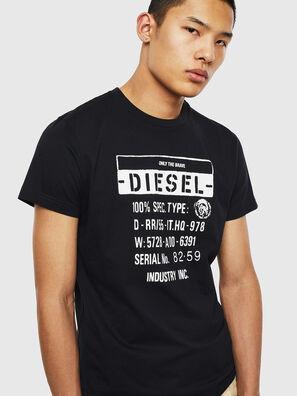 T-DIEGO-S1, Black - T-Shirts
