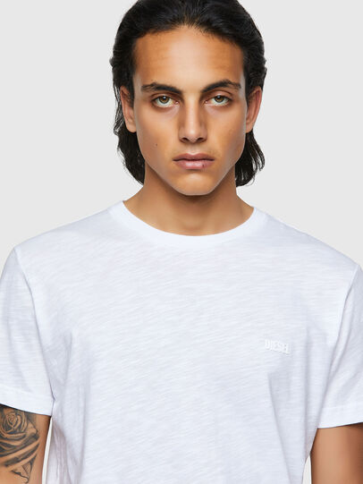 Diesel - T-RONNIE, White - T-Shirts - Image 3