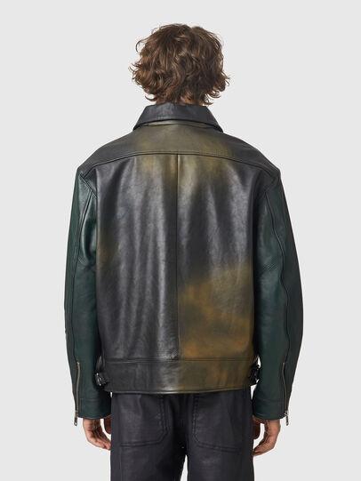 Diesel - L-COOPER-NEW, Black - Leather jackets - Image 2