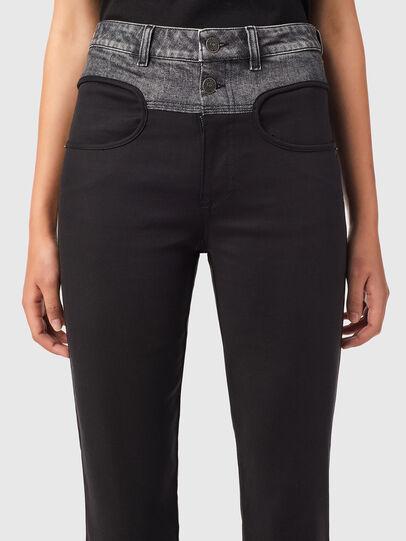 Diesel - P-LIA, Black - Pants - Image 3