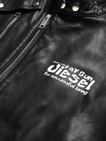 Diesel - US-L-CODY, Black - Leather jackets - Image 3