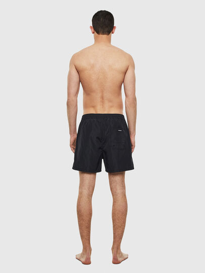 Diesel - BMBX-WAVE 2.017, Black/White - Swim shorts - Image 2