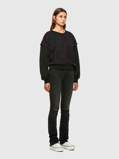 Diesel - F-TWISTER, Black - Sweaters - Image 5