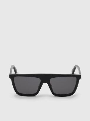 DL0323, Bright Black - Sunglasses
