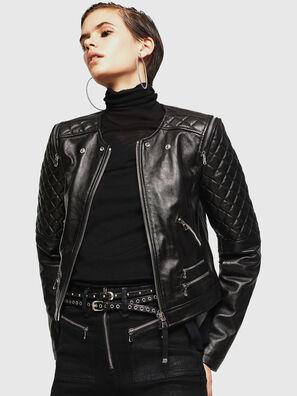 LIVIA, Black - Leather jackets